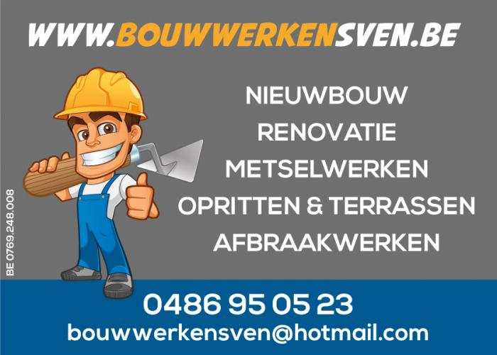 Logo Bouwwerken Sven